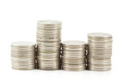 Level Coin Royalty Free Stock Photography