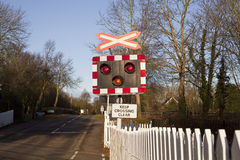 Level Crossing Royalty Free Stock Image