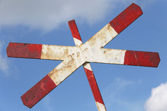 Level crossing Royalty Free Stock Images