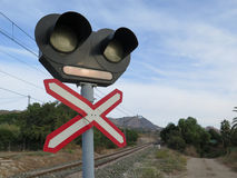 Level Crossing Stock Images