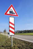 Level Crossing Sign Stock Image