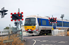 Level crossings Stock Photos