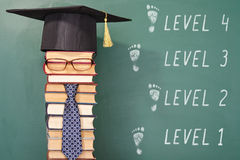 Level education concept Stock Photography