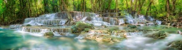 Level 6 of Huaimaekamin waterfall Stock Images
