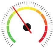 The level indicator Stock Photo