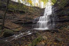 level mång- vattenfall Arkivbilder