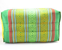 Level rectangle pillow. Thai style stock photography