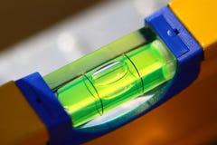 Level tube closeup Royalty Free Stock Image