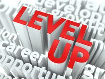 Level Up Concept. Royalty Free Stock Images