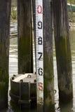 level vatten för indikator Royaltyfria Bilder
