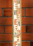 Leveling rod vintage Royalty Free Stock Photo