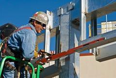 leveling supports welder Στοκ Εικόνα