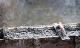 Levelling concrete Royalty Free Stock Photos