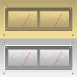 Levelmeter del vector Fotografía de archivo