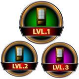 Levels set Royalty Free Stock Photography