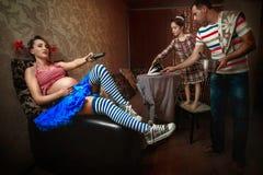 Levend een gelukkige zwangerschap Royalty-vrije Stock Foto's