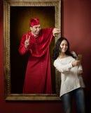 Levend portret royalty-vrije stock afbeelding