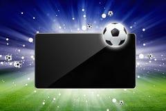 Levend voetbal vector illustratie