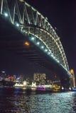 Levendig Festival, Havenbrug, Sydney, Australië royalty-vrije stock afbeelding