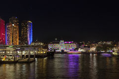 LEVENDIG Festival Sydney Royalty-vrije Stock Afbeelding
