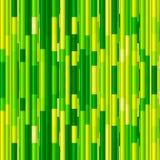 Levendig groen bamboe abstract naadloos patroon Royalty-vrije Stock Afbeelding