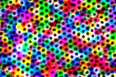 Levendig onduidelijk beeld kleurrijk abstract patroon Royalty-vrije Stock Afbeelding
