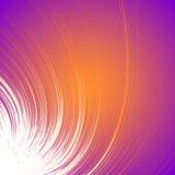 Levendige kleurrijke achtergrond met spiraalvormig motief Abstracte spiraalvormig, mede royalty-vrije illustratie