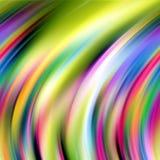 Levendige lijnen, regenboogtinten, abstracte achtergrond Royalty-vrije Stock Afbeeldingen