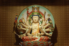 Levensduur Bodhisattva Samantabhadra. Stock Fotografie