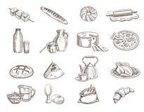 levensmiddelen Royalty-vrije Stock Afbeeldingen