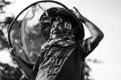 Levensstijl van concepten de Thaise landbouwers Stock Foto's