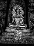 Levensstijl van van het de tempelontwerp van de Godsdienstvrijheid de kunstfotografie Thailand Royalty-vrije Stock Foto