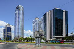 Levent district  in Istanbul Stock Images