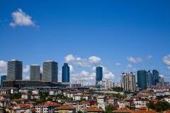 Levent Istanboel royalty-vrije stock foto