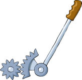 Lever. On a white background, vector Stock Image