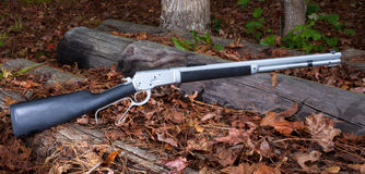 Lever action rifle Stock Photos