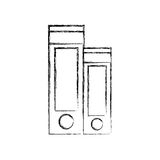 Lever archs isolated icon. Vector illustration design Stock Image