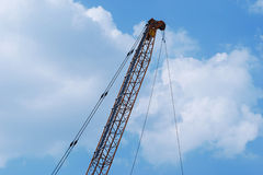 Lever crane Royalty Free Stock Photography