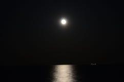 Lever de la lune Photo libre de droits
