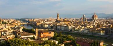 Lever de soleil à Florence photo libre de droits