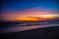 Lever de soleil à l'île de Havelock images libres de droits