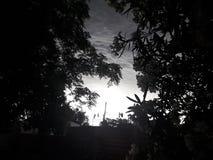 Lever de soleil à la lumière de jour photo libre de droits