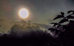Lever de soleil à la montagne Photo libre de droits