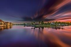 Lever de soleil à Naples, la Floride Images libres de droits