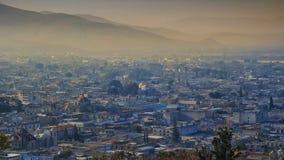 Lever de soleil à Oaxaca image stock