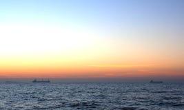 Lever de soleil. Image libre de droits