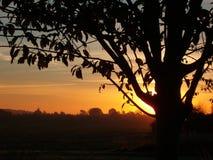 Lever de soleil Photos libres de droits