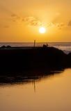 Lever de soleil Photographie stock libre de droits