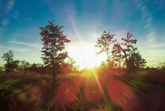 Lever de soleil 13 photographie stock