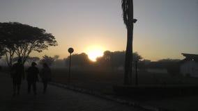 Lever de soleil ! Images libres de droits